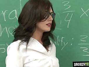 Class teacher gets sperm load from students